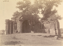 General view of ruined temple at Kurhad Khurd